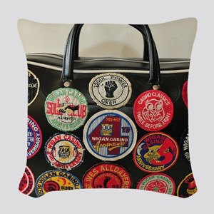 NORTHERN SOUL  Woven Throw Pillow