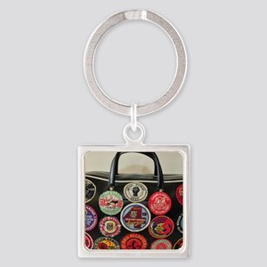 NORTHERN SOUL  Square Keychain