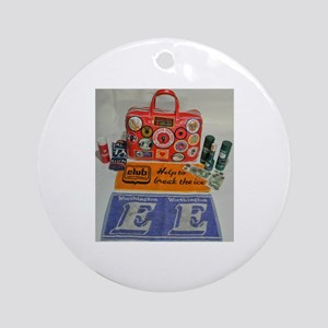 NORTHERN SOUL BAG Round Ornament