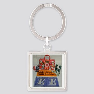 NORTHERN SOUL BAG Square Keychain