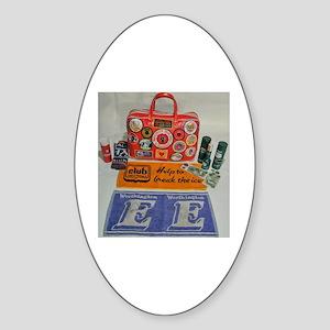 NORTHERN SOUL BAG Sticker (Oval)