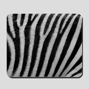 Zebra Texture Mousepad