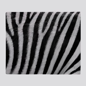 Zebra Texture Throw Blanket