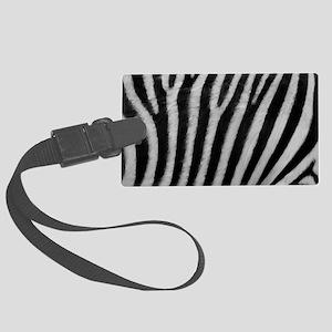 Zebra Texture Large Luggage Tag