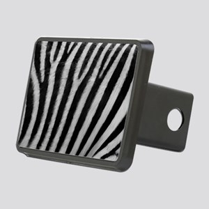Zebra Texture Rectangular Hitch Cover