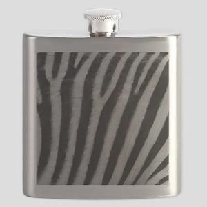 Zebra Texture Flask
