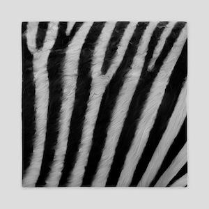 Zebra Texture Queen Duvet