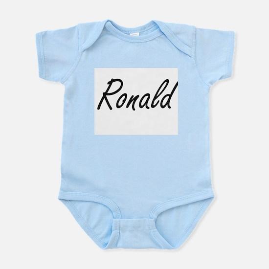 Ronald Artistic Name Design Body Suit