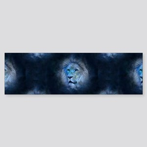 leo lion Bumper Sticker
