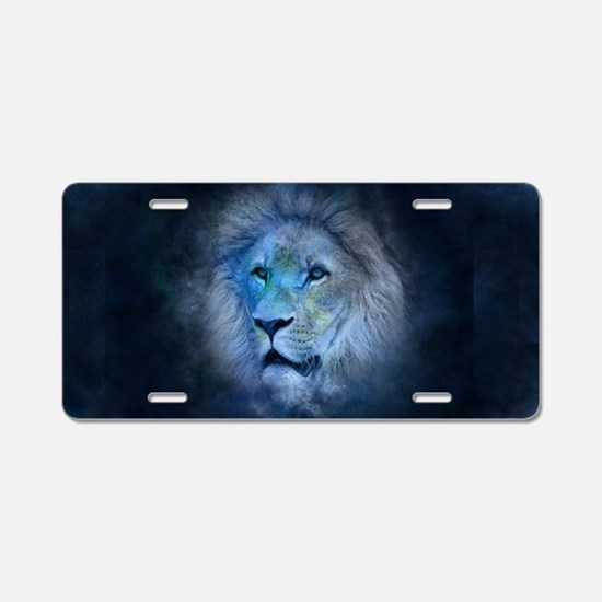 leo lion Aluminum License Plate