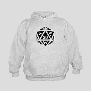 D20 black center Sweatshirt
