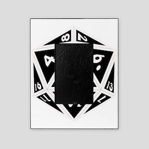 D20 black center Picture Frame