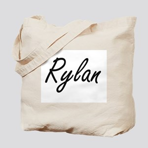 Rylan Artistic Name Design Tote Bag
