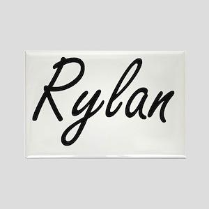 Rylan Artistic Name Design Magnets
