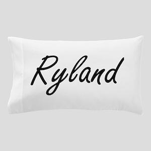 Ryland Artistic Name Design Pillow Case