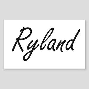 Ryland Artistic Name Design Sticker