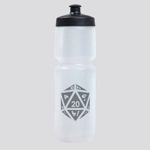 D20 black center Sports Bottle