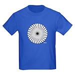 45rpm Mod Spiral Kids Dark T-Shirt