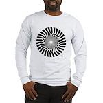 45rpm Mod Spiral Long Sleeve T-Shirt