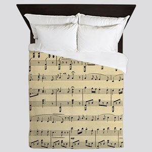 sheet music Queen Duvet
