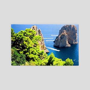 Italy, Capri Area Rug