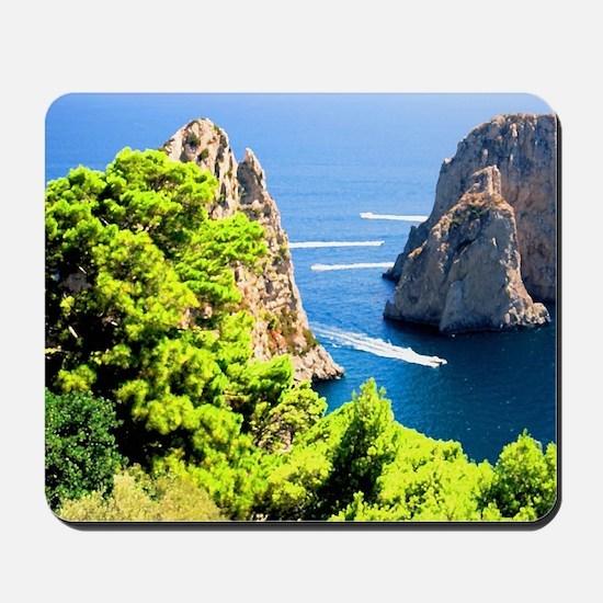 Italy, Capri Mousepad