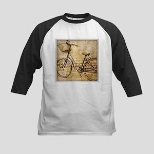 romantic street vintage bike Baseball Jersey