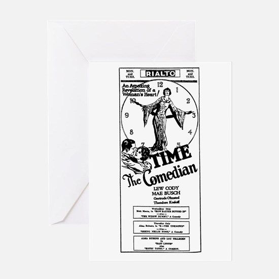 Mae Busch Time, The Comedian film Greeting Card