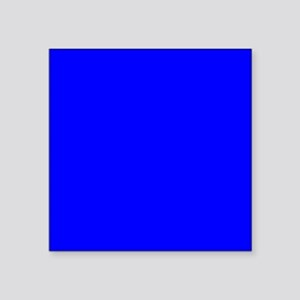 "JUST COLORS: ROYAL BLUE Square Sticker 3"" x 3"""