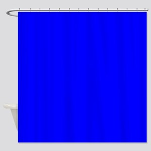 JUST COLORS: ROYAL BLUE Shower Curtain