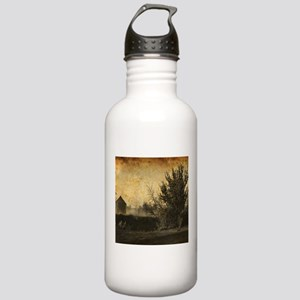 rustic Rural farm land Stainless Water Bottle 1.0L