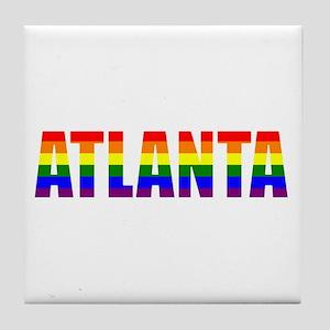 Atlanta Pride Tile Coaster