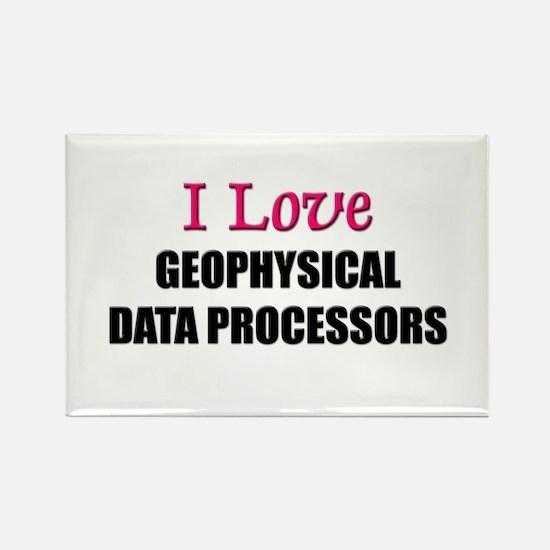 I Love GEOPHYSICAL DATA PROCESSORS Rectangle Magne