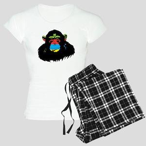 Rainbow Chimp Women's Light Pajamas