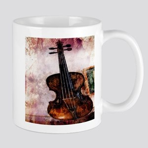 classic music violin Mugs