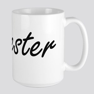 Sylvester Artistic Name Design Mugs