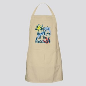 Life is Better at the Beach Apron