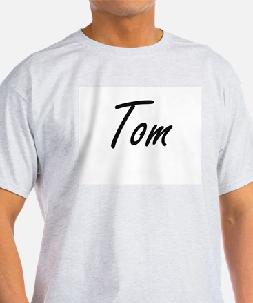 Tom Artistic Name Design T-Shirt