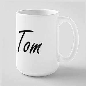 Tom Artistic Name Design Mugs