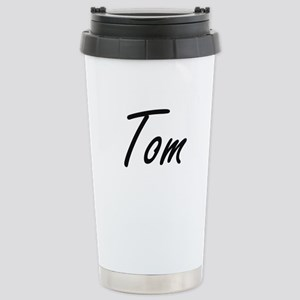 Tom Artistic Name Desig Stainless Steel Travel Mug