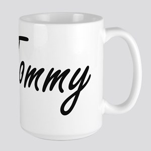 Tommy Artistic Name Design Mugs