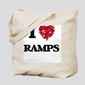 I Love Ramps Tote Bag