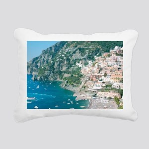 Italy Rectangular Canvas Pillow