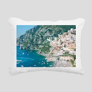 Italy Rectangular Canvas Pillow