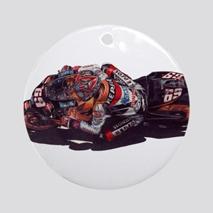 nicky hayden Round Ornament