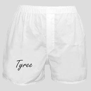 Tyree Artistic Name Design Boxer Shorts