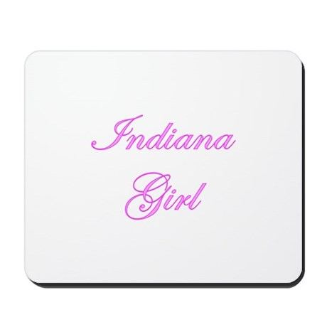 Indiana Girl Mousepad
