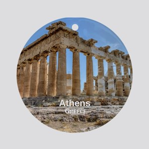 Athens Ornament (Round)