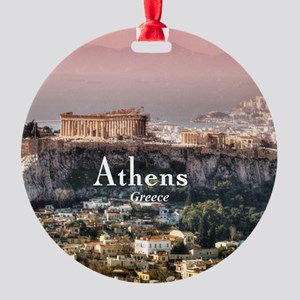 Athens Round Ornament