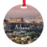 Athens Round Ornament